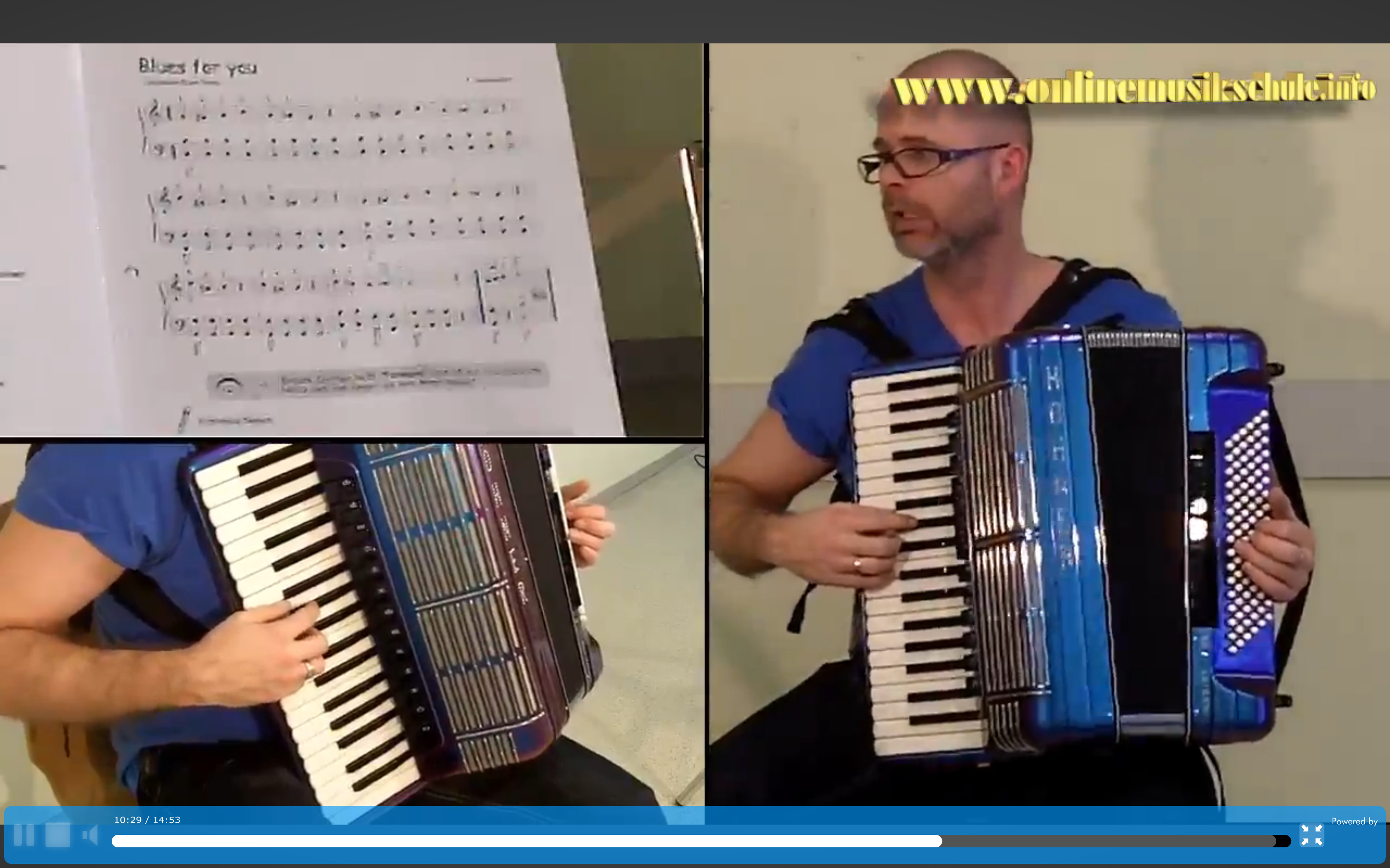 akkordeon lernen onlinemusikschule kurs 6