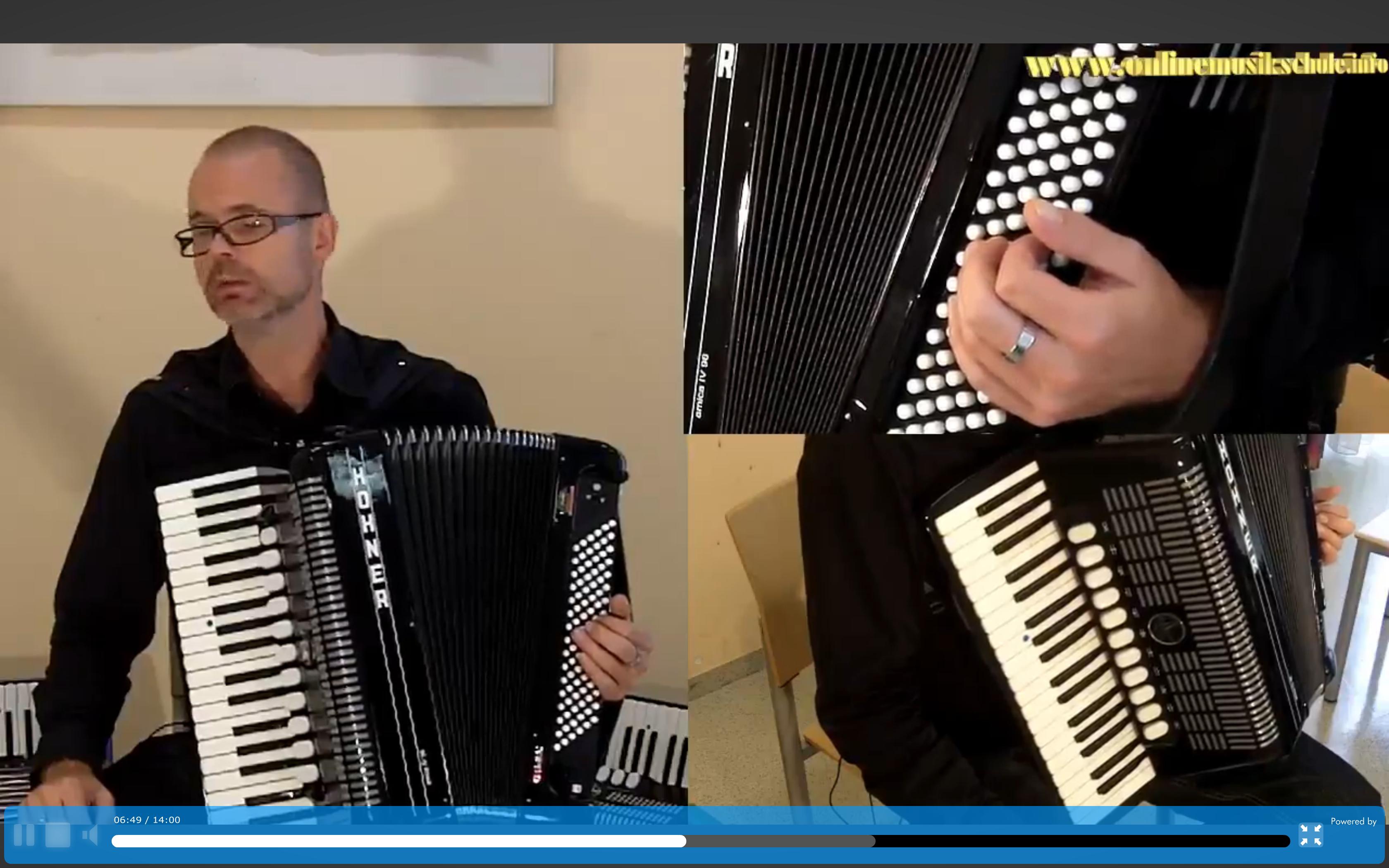 akkordeon lernen onlinemusikschule kurs 3