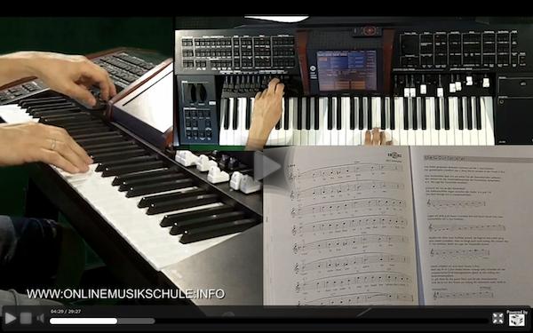 keyboard spielen lernen onlinemusikschule 5